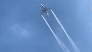 Λος Άντζελες: Βίντεο από τη στιγμή που αεροπλάνο αδειάζει καύσιμα πάνω από σχολεία