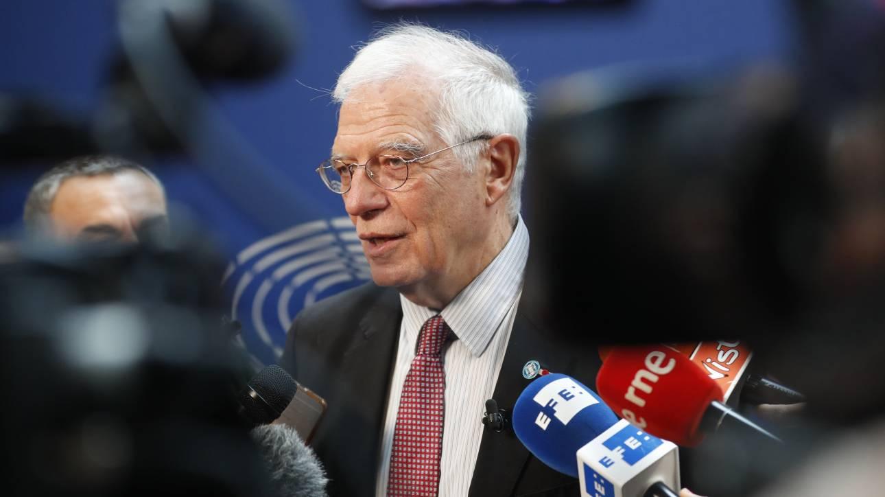 ΕΕ: Στηλιτεύει την «εμπλοκή» Ρωσίας και Τουρκίας στη σύρραξη στη Λιβύη