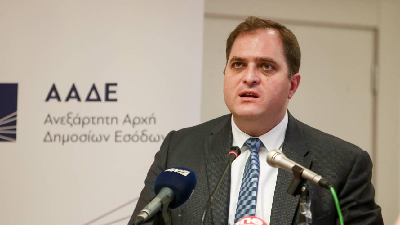 Έως το 2025 Διοικητής της ΑΑΔΕ ο Γιώργος Πιτσιλής