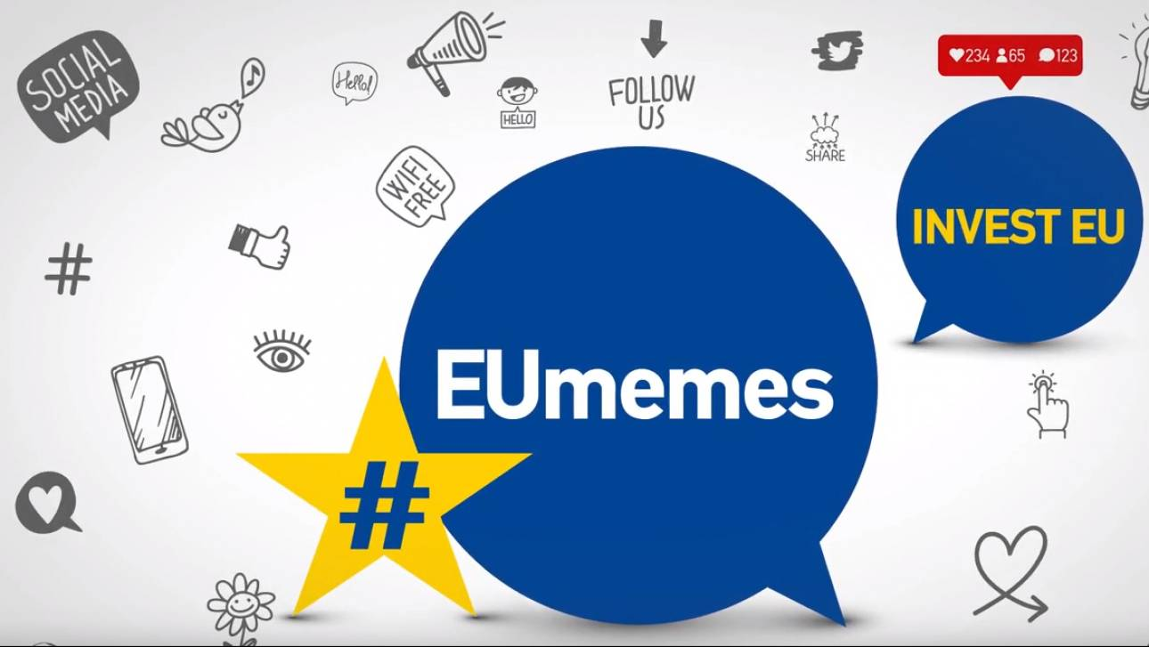 #EUmemes: Μία εναλλακτική και πρωτότυπη σειρά για τις πολιτικές και τα προγράμματα της Ε.Ε.