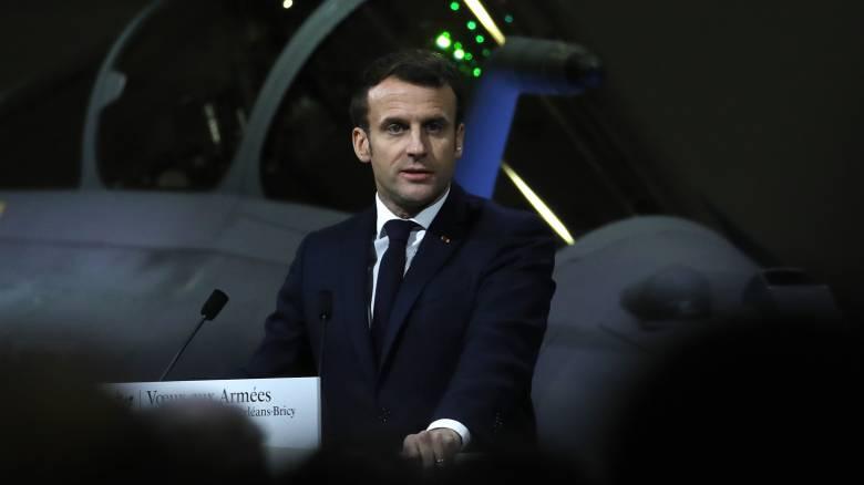 Γαλλία: Ο Μακρόν στέλνει αεροπλανοφόρο στη Μέση Ανατολή
