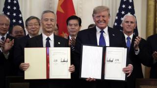 ΕΕ για συμφωνία ΗΠΑ – Κίνα: Προσφυγή στον ΠΟΕ αν υπάρξουν στρεβλώσεις