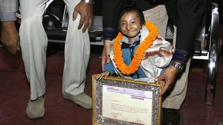 Πέθανε ο πιο μικρόσωμος άνθρωπος του κόσμου