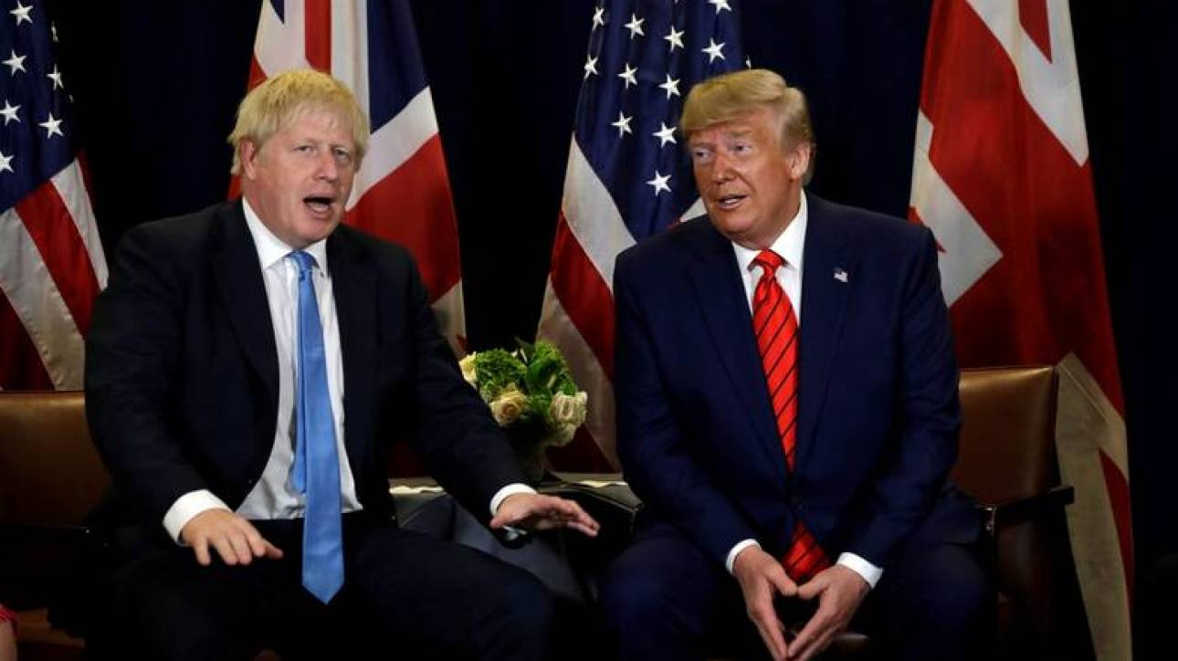 Εμπορικές συνομιλίες με ΗΠΑ θα αρχίσει η Βρετανία πριν το ξεκαθάρισμα με την ΕΕ