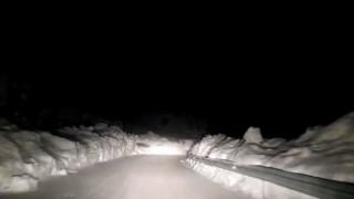 Χιόνισε ξανά στην Πάρνηθα