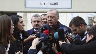 Ερντογάν: Θα χρησιμοποιήσουμε κάθε μέσο εξουσίας σε Ανατολική Μεσόγειο και Λιβύη