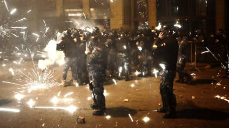 Βηρυτός: Βίαιες συγκρούσεις μεταξύ αστυνομίας και διαδηλωτών