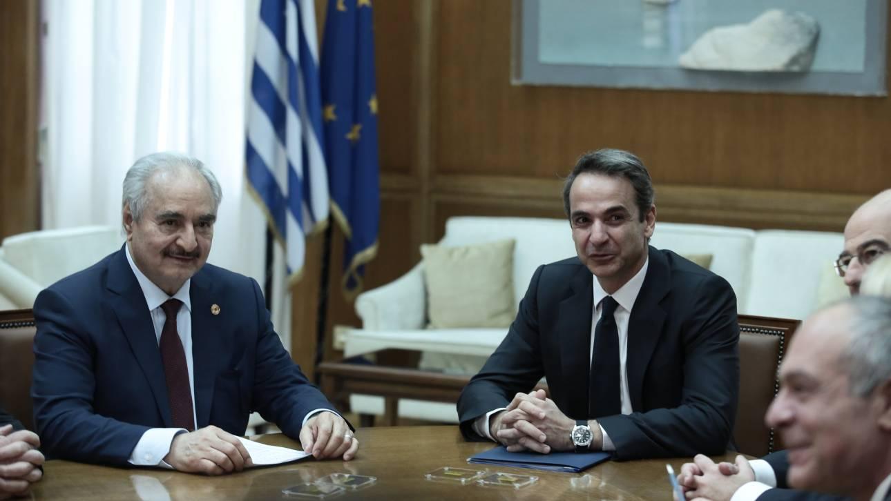 Διάσκεψη για την Λιβύη και στο βάθος τα δικαιώματα της Ελλάδας στη Μεσόγειο
