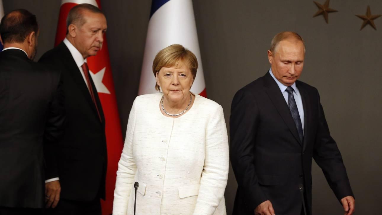 Σκληρό διπλωματικό «πόκερ»: Μεγάλες προσδοκίες και μικρό καλάθι στη Διάσκεψη του Βερολίνου