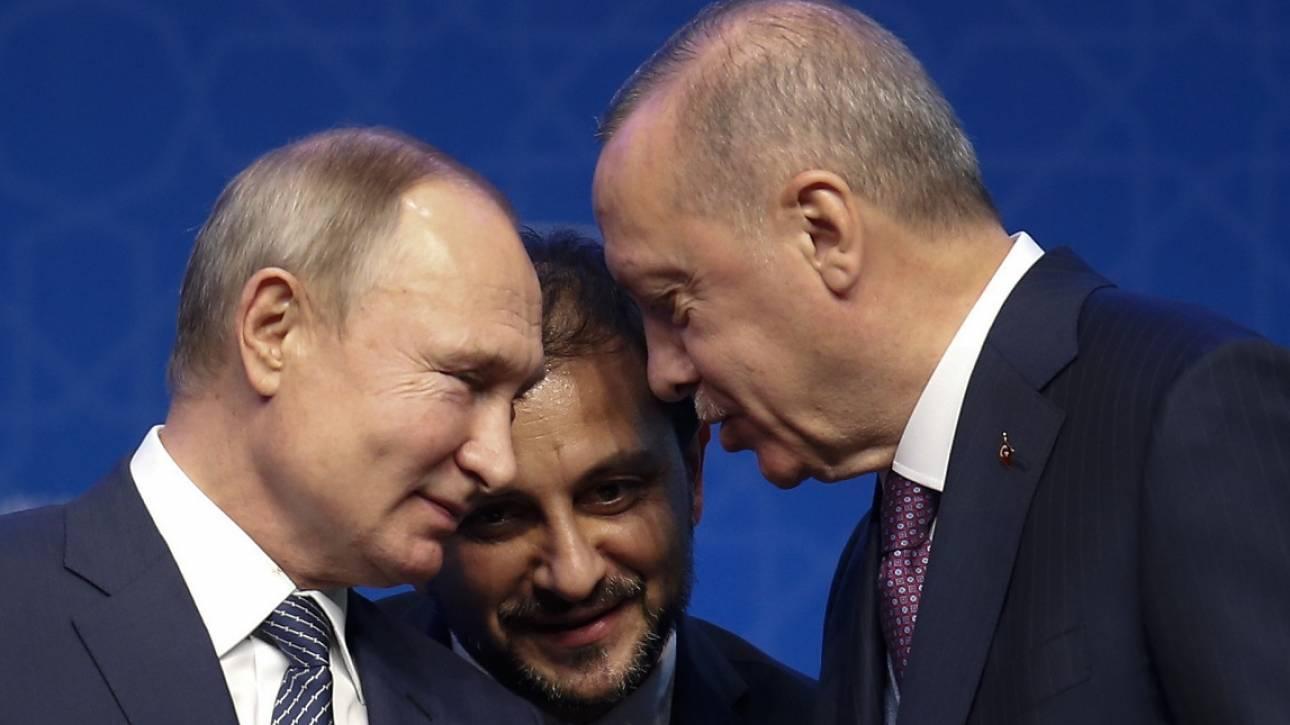 Τετ-α-τετ Πούτιν με Ερντογάν στο περιθώριο της διάσκεψης του Βερολίνου