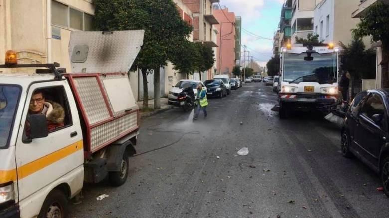Δήμος Αθηναίων: Μέγαλη επιχείρηση καθαριότητας σε Βοτανικό, Μεταξουργείο, Πετράλωνα