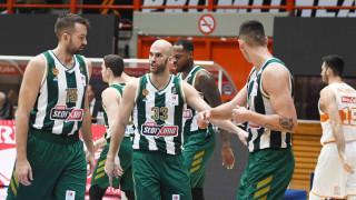Προμηθέας - Παναθηναϊκός ΟΠΑΠ 75-99: «Πύρρειος» νίκη για τους «πράσινους»