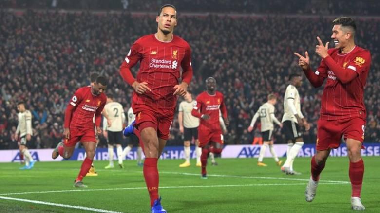 Λίβερπουλ - Μάντσεστερ Γιουνάιτεντ 2-0: Σαρωτική νίκη για τους «Κόκκινους»