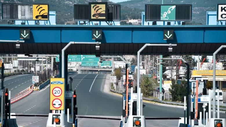 Αποκλεισμός της εθνικής οδού Πατρών - Πύργου την Τρίτη