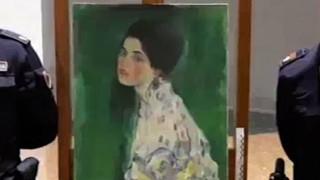 Αυθεντικός ο πίνακας του Κλιμτ που βρέθηκε σε αεραγωγό - Είχε κλαπεί πριν από 23 χρόνια