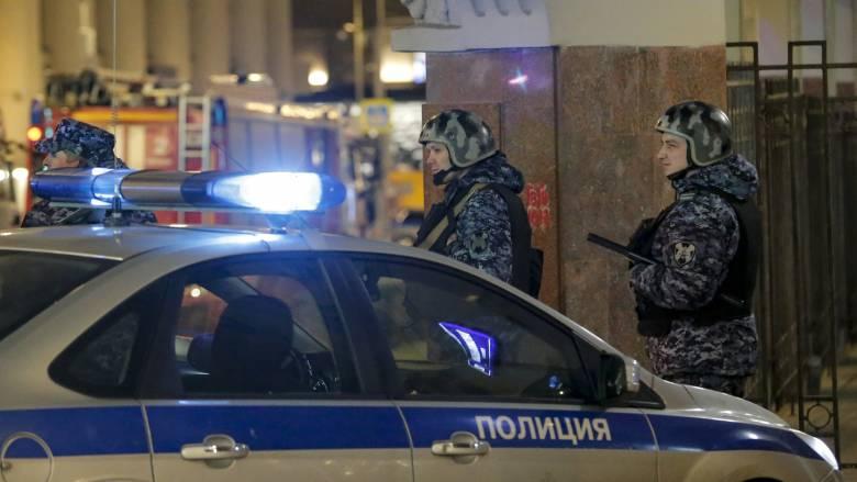 Συναγερμός στη Μόσχα λόγω απειλών για βόμβες