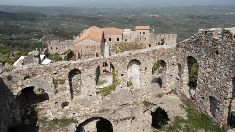 Μαγευτικό βίντεο της βυζαντινής καστροπολιτείας του Μυστρά από ψηλά