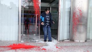 Καταδρομική επίθεση στο κτήριο της Ειδικής Γραμματείας Κοινοτικών Πόρων και Υποδομών