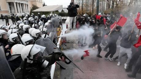 Επεισόδια και χημικά: Ένταση στο εκπαιδευτικό συλλαλητήριο