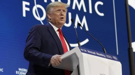 Νταβός - Τραμπ: «Προφήτες της δυστυχίας» όσοι μιλούν για κλιματική αλλαγή