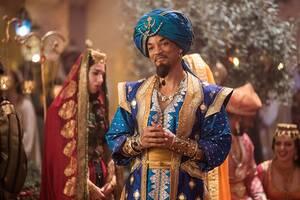 36. Aladdin (2019) Εισπράξεις παγκοσμίως: 1,050,693,953 δολάρια Πρώτο Σαββατοκύριακο: 91,500,929 δολάρια Κόστος παραγωγής: 183 εκατομμύρια δολάρια