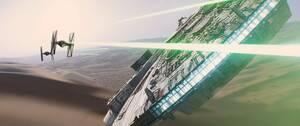 4. Star Wars: The Force Awakens (2015) Εισπράξεις παγκοσμίως: 2,068,223,624 δολάρια Πρώτο Σαββατοκύριακο: 247,966,675 δολάρια Κόστος παραγωγής: 245 εκατομμύρια δολάρια