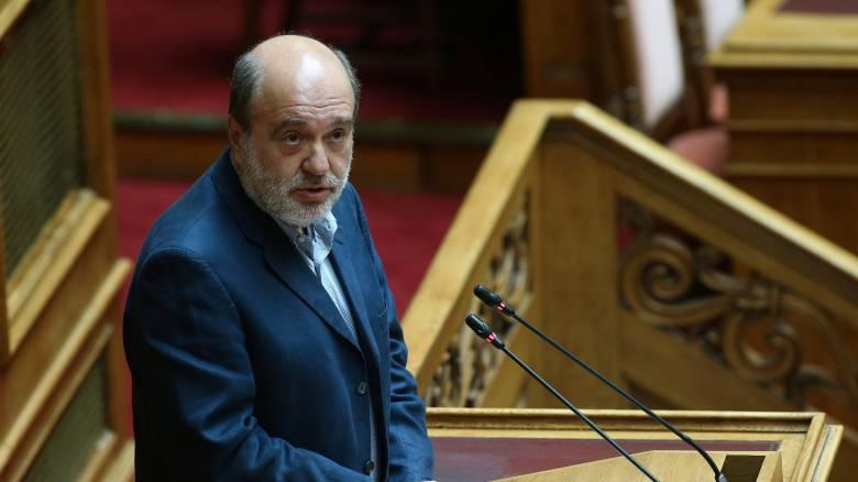 Κατέρρευσε στη Βουλή ο Τρύφων Αλεξιάδης