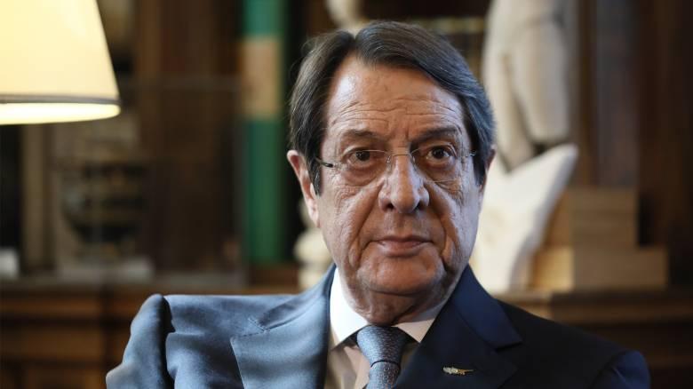 Αναστασιάδης: Η νέα εποχή συνεργασίας Κύπρου - Ισραήλ είναι εδώ για να μείνει