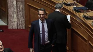 Εκλογή ΠτΔ: Επικοινωνία Μητσοτάκη - Σακελλαροπούλου μετά την ψηφοφορία της Βουλής