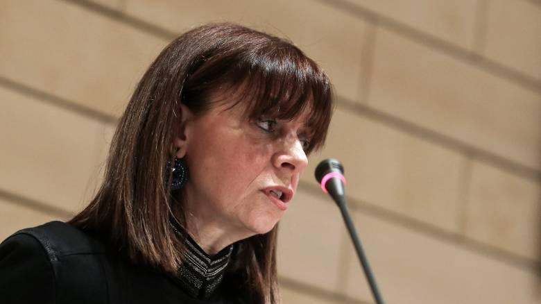 Εκλογή ΠτΔ: Ο Πρόεδρος της Βουλής ενημέρωσε την Αικατερίνη Σακελλαροπούλου