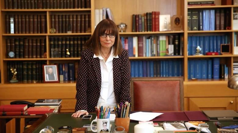 Εθνική κυριαρχία και σύγχρονα προβλήματα οι προτεραιότητες της Αικ. Σακελλαροπούλου