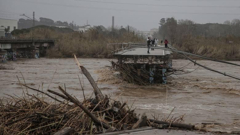 Η καταιγίδα «Γκλόρια» σαρώνει Ισπανία-Γαλλία: Οκτώ οι νεκροί