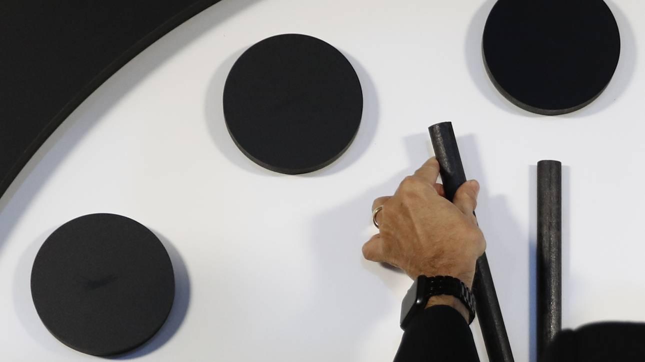 «Ρολόι της Αποκάλυψης»: Εκατό δευτερόλεπτα πριν από το τέλος του κόσμου