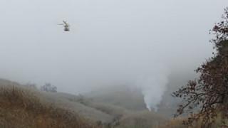 Κόμπι Μπράιαντ: Βίντεο - ντοκουμέντο από το σημείο που συνετρίβη το ελικόπτερο