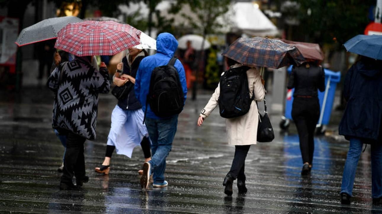 Καιρός: Πού θα «χτυπήσουν» οι καταιγίδες την Τρίτη