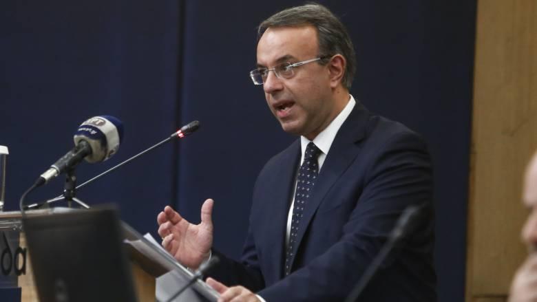 Σταϊκούρας: Τον Απρίλιο θα εξεταστεί η μείωση εισφοράς αλληλεγγύης και ΕΝΦΙΑ