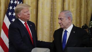 Ο Τραμπ παρουσίασε το ειρηνευτικό σχέδιό του για τη Μέση Ανατολή