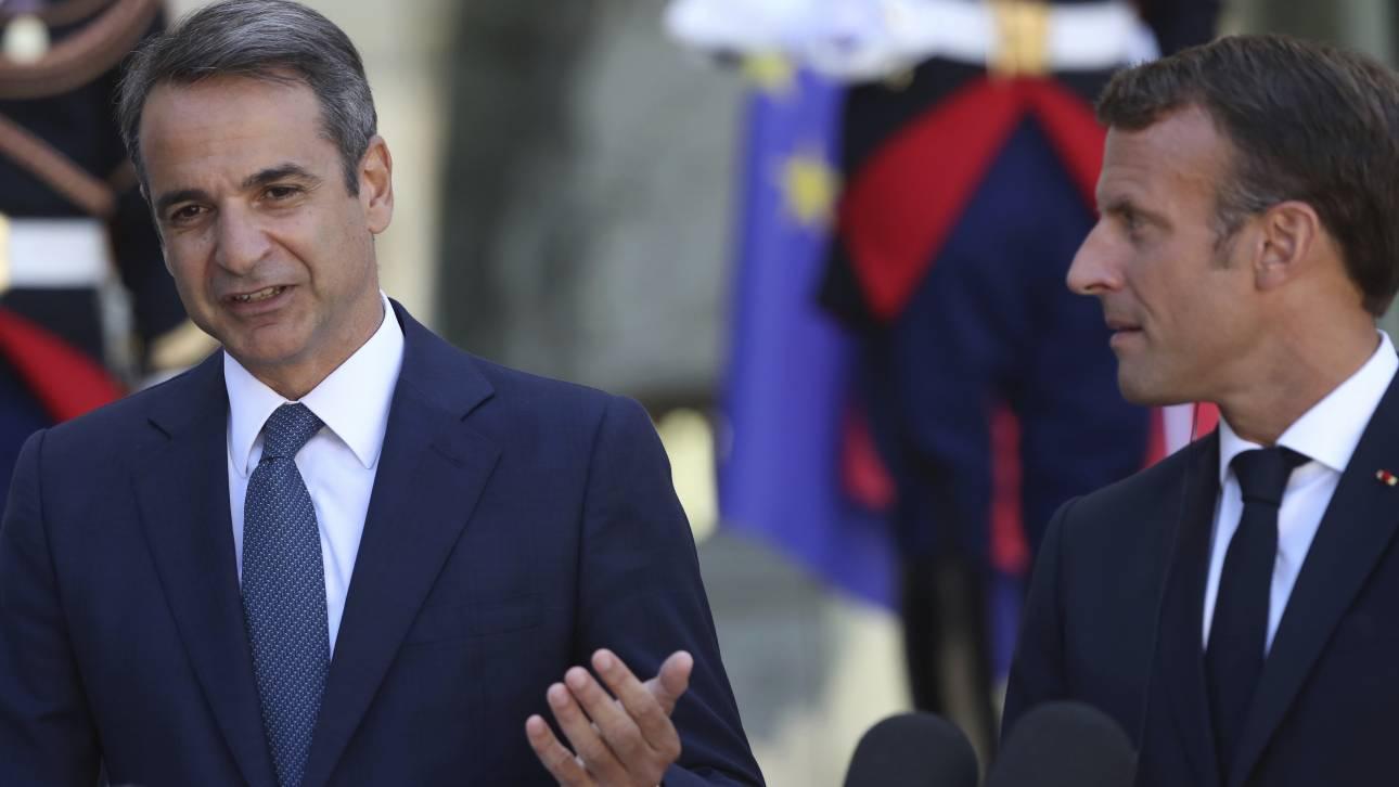 Στο Παρίσι ο Μητσοτάκης: Η ατζέντα και οι στόχοι της συνάντησης με τον Μακρόν
