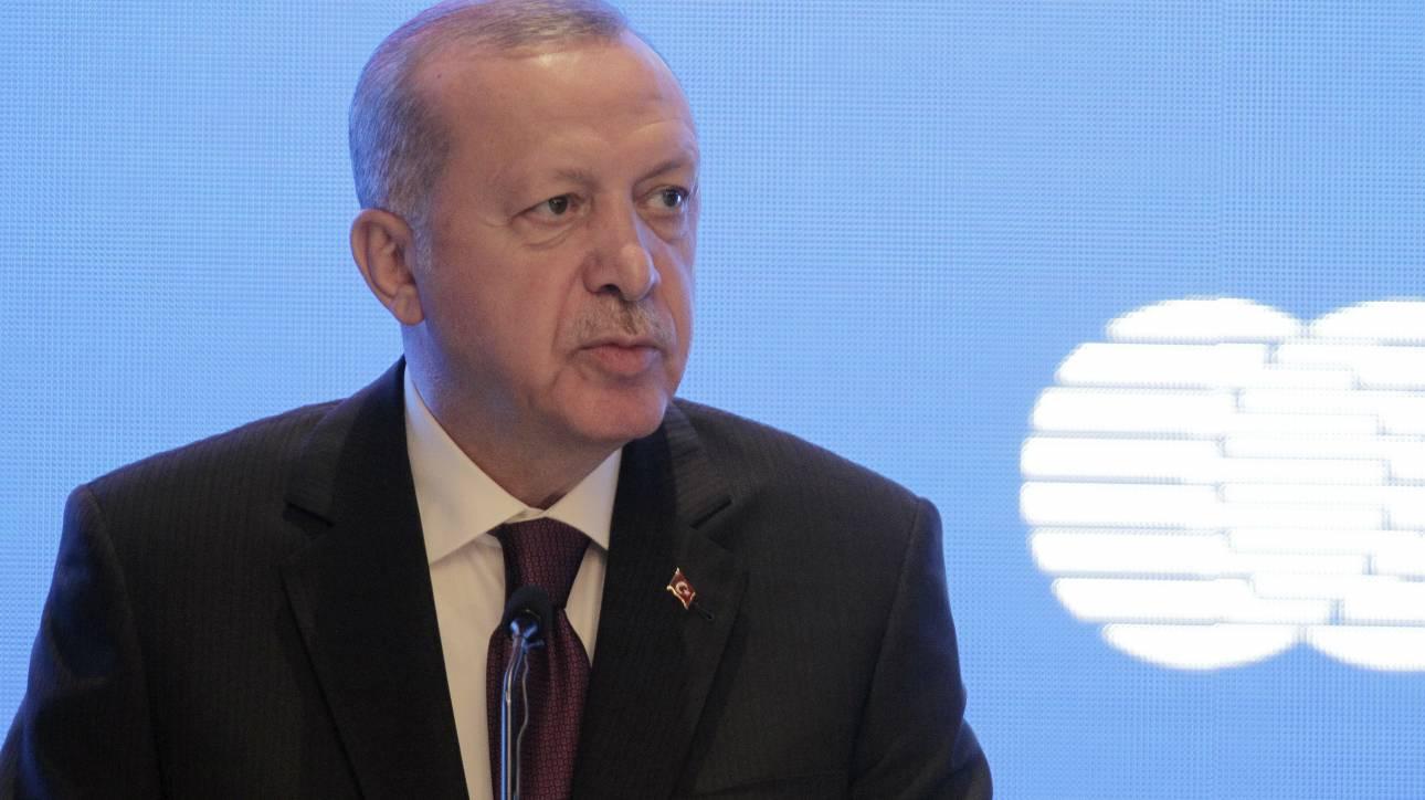 Ερντογάν: Εντελώς απαράδεκτο το σχέδιο Τραμπ για τη Μέση Ανατολή