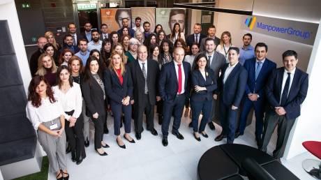 Πλοηγηθήκαμε στα νέα γραφεία της κορυφαίας εταιρείας ανθρώπινου δυναμικού ManpowerGroup στην Αθήνα