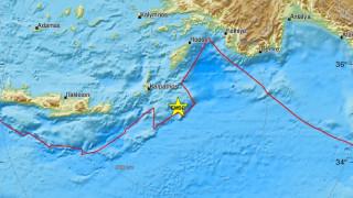 Σεισμός κοντά σε Κάρπαθο και Ρόδο - Αισθητός σε αρκετές περιοχές