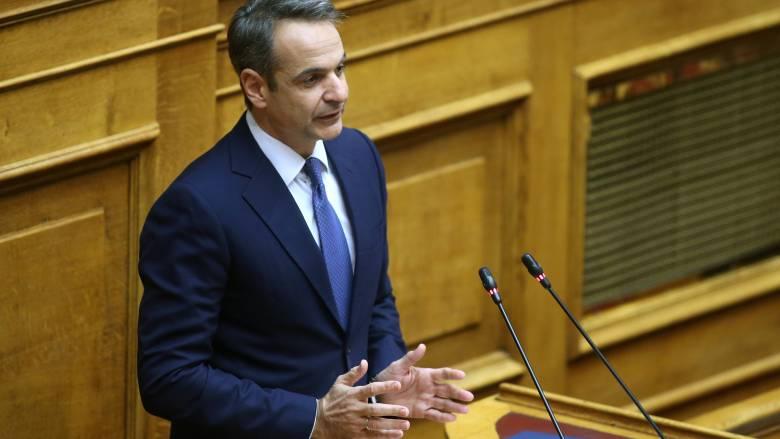 Μητσοτάκης: Προειδοποιεί με Grexit και προαναγγέλλει μνημόνιο για το ποδόσφαιρο