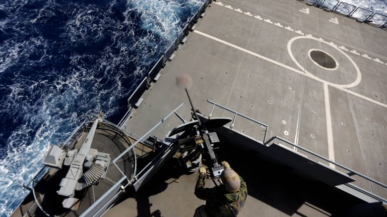 Η Γαλλία εντόπισε τουρκική φρεγάτα να σπάει το εμπάργκο στη Λιβύη