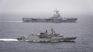Αποστολή «Foch»: Ενίσχυση της διαλειτουργικότητας μεταξύ γαλλικού και ελληνικού ναυτικού