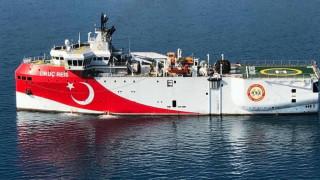 Είσοδος τουρκικού ερευνητικού σκάφους στην ελληνική υφαλοκρηπίδα
