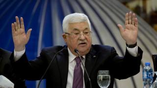 Τη διακοπή όλων των σχέσεων με ΗΠΑ – Ισραήλ ανακοίνωσε η Παλαιστίνη