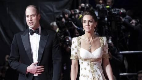 Ουίλιαμ και Κέιτ στα κινηματογραφικά βραβεία BAFTA