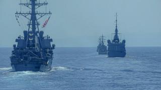 «Συνωστισμός» πολεμικών πλοίων στην Ανατολική Μεσόγειο
