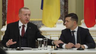 Ερντογάν: Βέλη κατά Ρωσίας για Κριμαία με το βλέμμα στη Συρία