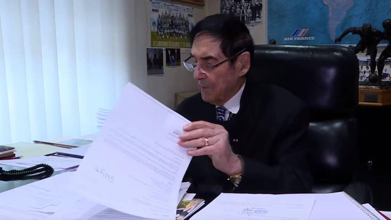 Γάλλος δήμαρχος ετών... 97 θέτει εκ νέου υποψηφιότητα